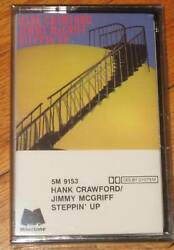 HANK CRAWFORD JIMMY MCGRIFF  Steppin NEW CASSETTE TAPE