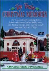 Toy Train Christmas Memories DVD NEW- Lionel LGB MTH Tree kids video