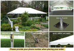 30x90 Classic Frame Tent Sectional White Tent for Sale Event Wedding Outdoor