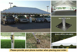 10x40 Classic Frame Tent for Wedding Outdoors Event Party Catering