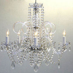 Authentic Crystal Chandelier Chandeliers Lighting H25quot; x W24quot; $126.95
