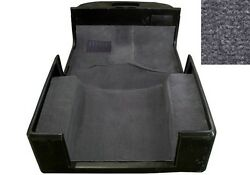 1976-1995 Jeep Wrangler YJ and CJ7 Indoor Outdoor Carpet Kit Charcoal Gray