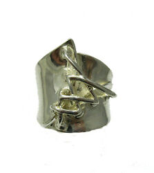 EXTRAVAGANT STERLING SILVER RING SOLID 925 NEW SIZE G - V R001312 EMPRESS