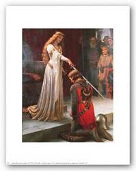 FANTASY ART PRINT The Accolade Edmund Blair Leighton 8x10