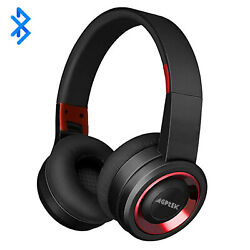 Wireless Headphones Bluetooth Headset Noise Cancelling Over Ear With Microphone $21.99