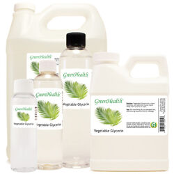 Glycerin Vegetable Oil 100% Pure Natural FREE SHIPPING $6.49