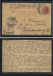 South Africa  postal card redirected  1901        SS0417