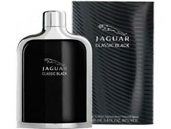 JAGUAR CLASSIC BLACK by Jaguar edt Spray for Men 3.4 oz NEW in BOX $14.69