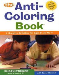 The Anti-Coloring Book by Susan Striker (English) Paperback Book Free Shipping!
