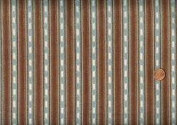 #x27;RUSTIC LIVING#x27; #x27;BLANKET#x27; STRIPES FABRIC QUILTING TREASURES $9.95