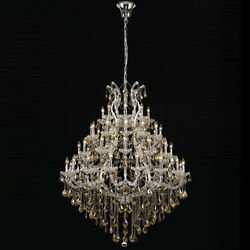 New! Crystal Chandelier Maria Theresa 49 Lts 46x62