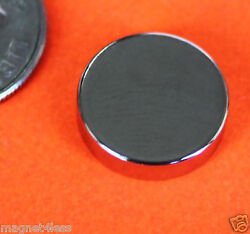 10 Strong 1 2x1 8quot; Inch Grade N42 Rare Earth Neodymium Disc Photo Craft Magnet $6.99