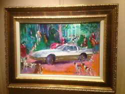 LEROY NEIMAN Original Oil