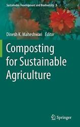 Composting for Sustainable Agriculture English Hardcover Book Free Shipping $215.38