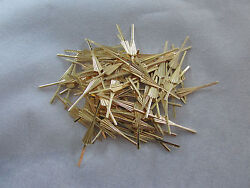 50 ARROW CONNECTOR PINS 33 mm GOLD CHANDELIER PARTS LAMP CRYSTAL PRISM BEAD $7.85