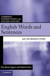 Cambridge Introductions to the English Language: An Introduction by Eva Duran Ep