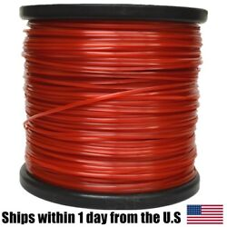 5lb .095 Square Red Commercial Trimmer Line Spool Roll Fits Echo Stihl Redmax $38.99