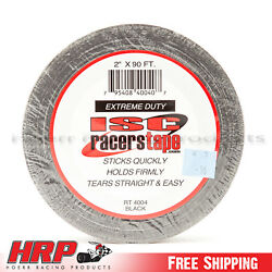 ISC Racers Tape 2quot; x 90#x27; Extreme Duty Black $15.15