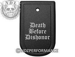 Magazine Floor Base Mag Plate for Springfield XD 9mm .40 Death Dishonor $15.95