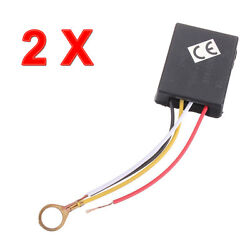 2P X 3Way Touch Sensor Switch Control for Repairing Lamp Desk Light Bulb Dimmer $6.99
