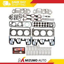 Head Gasket Bolts Set Fit 96-05 Chevrolet Buick Oldsmobile Pontiac 3.1 3.4
