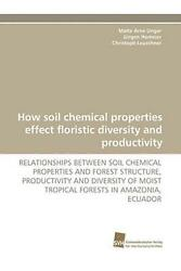 How Soil Chemical Properties Effect Floristic Diversity and Productivity: RELATI $150.44