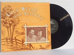 Lulu Belle and Scotty self-titled st vinyl LP Super SR-6201 rare country NM+