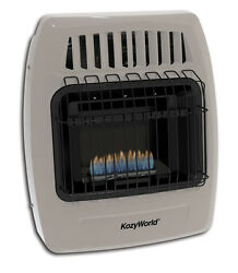 Kozy World KWD154 10K  Dual Fuel (LP or Gas) Vent Free Wall Heater