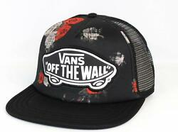 Vans Off The Wall Beach Girl Digital Rose Trucker Classic Patch Snapback New NWT $19.99