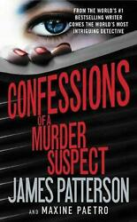 Confessions of a Murder Suspect by James Patterson (English) Hardcover Book Free