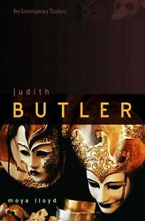 Judith Butler: From Norms to Politics by Moya Lloyd (English) Hardcover Book Fre
