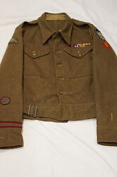 WW2 British 224th Parachute Field Ambulance Battle Dress Uniform RARE