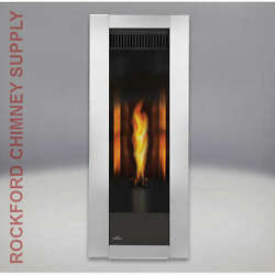 The Torch GT8 Napoleon Gas Fireplace w Choice of Frame Color (Direct Rear Vent)