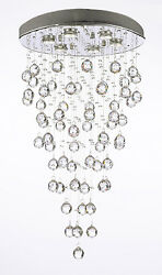 Modern Contemporary quot;Rain Dropquot; Chandeliers Lighting with Crystal Balls $242.15