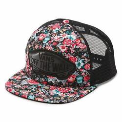 Vans Off The Wall Beach Girl Rose Floral Classic Patch Snapback Trucker NEW NWT $19.99