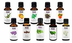 NOW Foods 1 oz Essential Oils and Blend Oils FREE SHIPPING $8.99