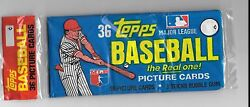 1982 Topps baseball Grocery pack