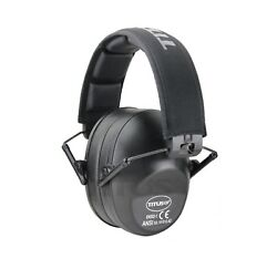Low Profile Black Ear Muffs Hearing Noise Reduction Protection Shooting 34 Nrr $17.99
