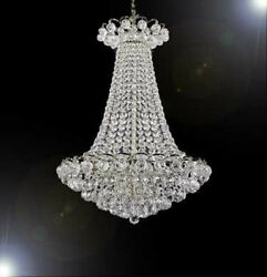 Made With Swarovski Crystal Chandelier French Empire Chandelier W Crystal Balls $764.57