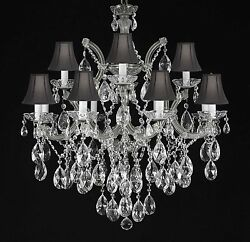 Maria Theresa Chandelier Crystal Lighting Chandeliers With Shades H30quot; X W28quot; $428.72