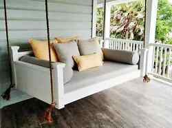 Outdoor Hanging Bed hand crafted outdoor patio furniture