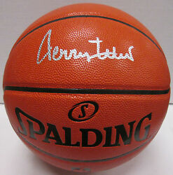 Lakers JERRY WEST Signed Spalding Replica Basketball AUTO HOF 1980 JSA $199.99