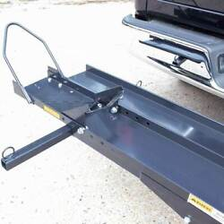 Titan Ramps Dirt Bike and Motorcycle Carrier Sports Bike Rack for Truck Hitch $213.99