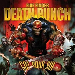 Five Finger Death Punch Got Your Six New CD Clean $14.79