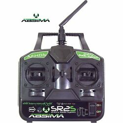 Absima 2000021 SR2S 2.4Ghz 2 Channel TWIN STICK Radio with Receiver for RC Kits GBP 39.49