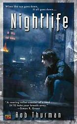 Nightlife by Rob Thurman (English) Mass Market Paperback Book Free Shipping!