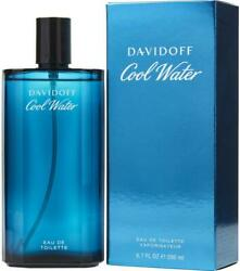 COOL WATER Cologne by Davidoff 6.7 oz 6.8 edt New in Box $25.11