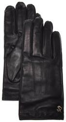 Stefano Ricci Gloves Handmade Leather Cashmere Size 9.5 Purple 13GL0114 $745