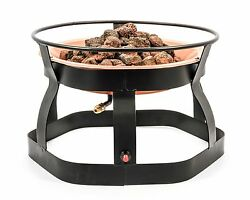 Camco 51210 Small Propane Patio Fire Pit New