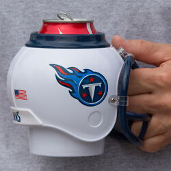 Tennessee Titans All in One Helmet Can & Bottle Cooler Mug and Desk Caddy $6.24